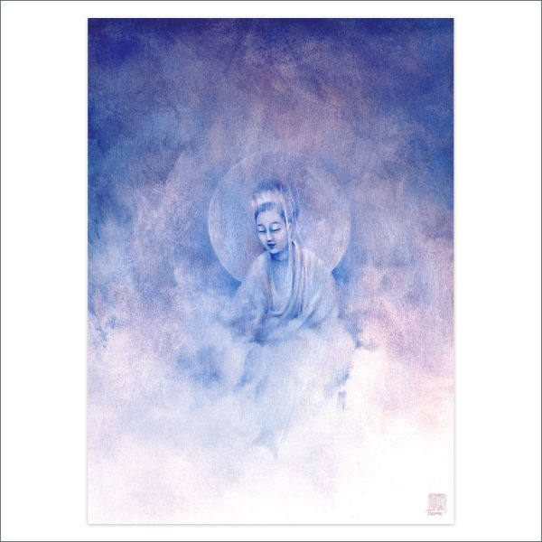 Quan Yin in the Clouds by Deva Padma