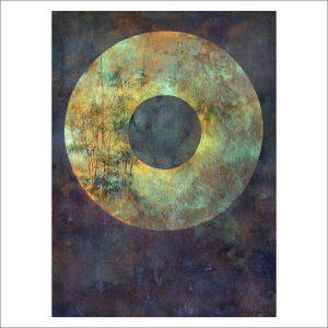 Bamboo Disc by Deva Padma