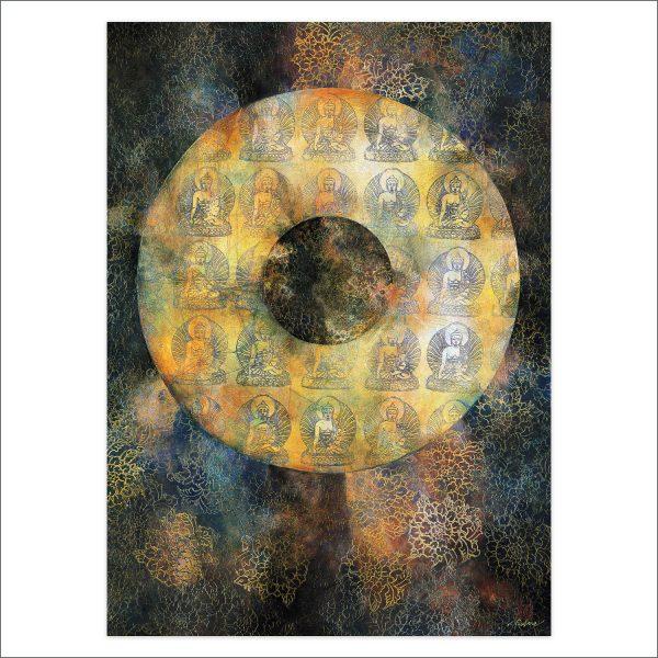 Buddha Disc by Deva Padma