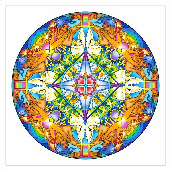Astro Mandala Gemini by Deva Padma